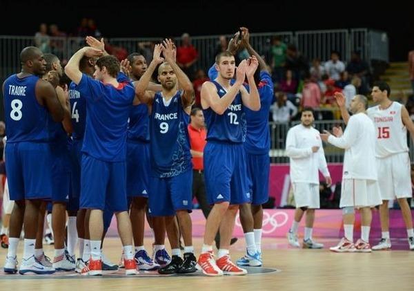 Equipe de France de basket jeux olympiques 2012