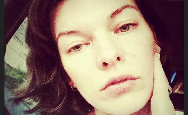 Milla-Jovovich-Instagram-sans-maquillage