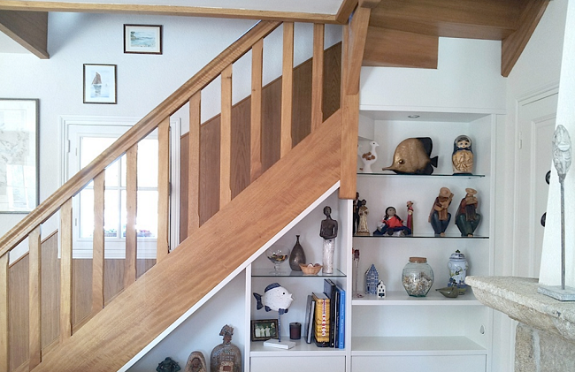 Comment am nager sous un escalier strooblog for Amenagement escalier interieur